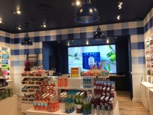 Wide photo of Bed And Bath Works stock in store alternative angle